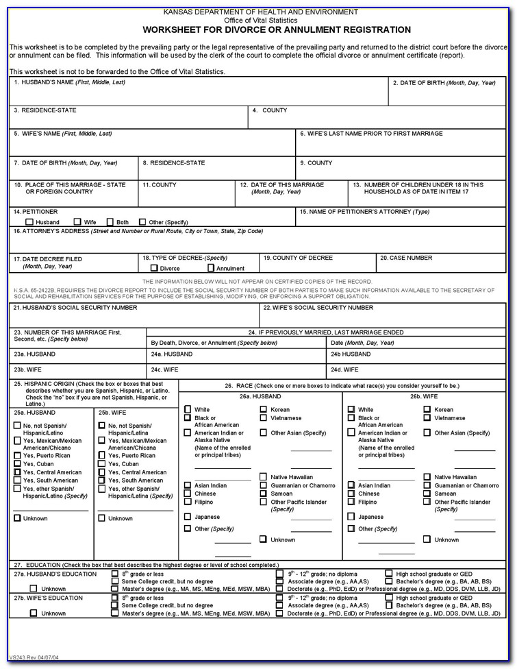 Catholic Marriage Annulment Forms