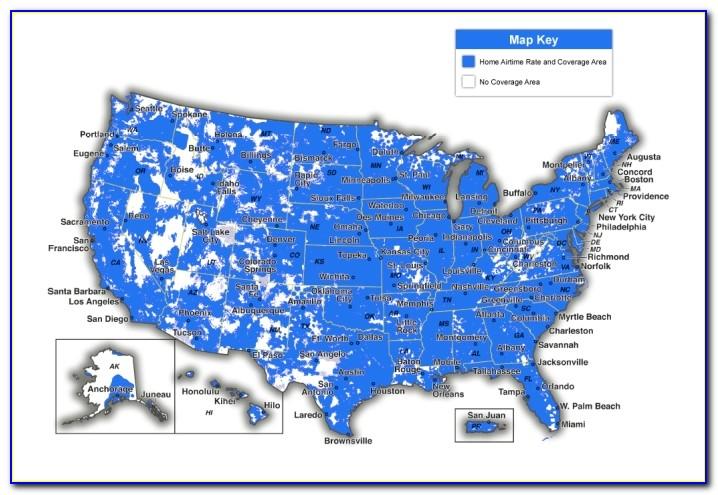 Cell Phone Coverage Maps Verizon