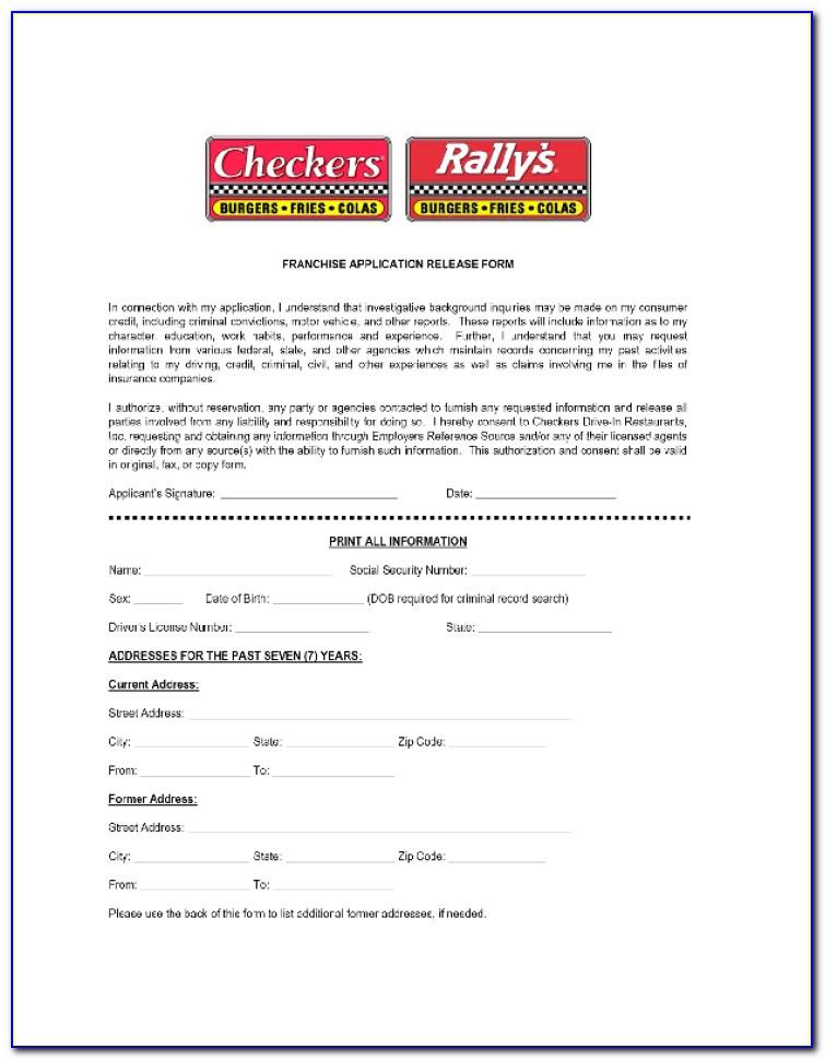 Checkers Restaurant Job Applications Online