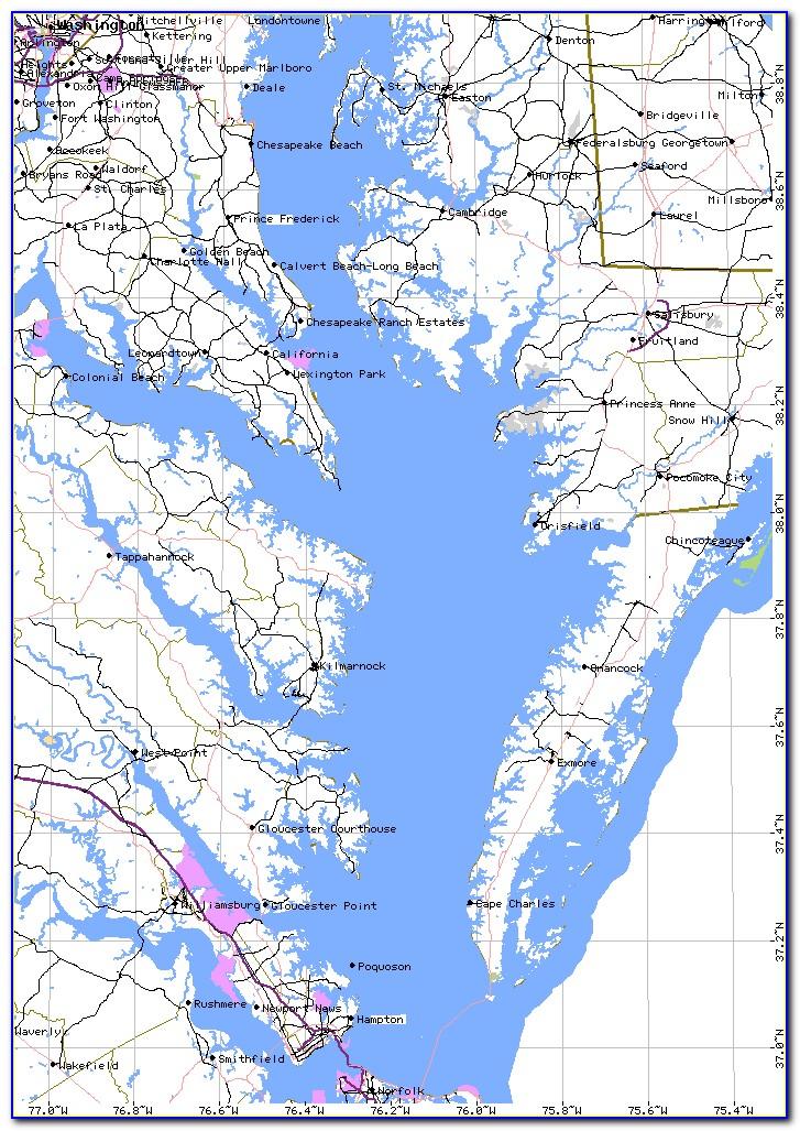 Chesapeake Bay Fishing Locations