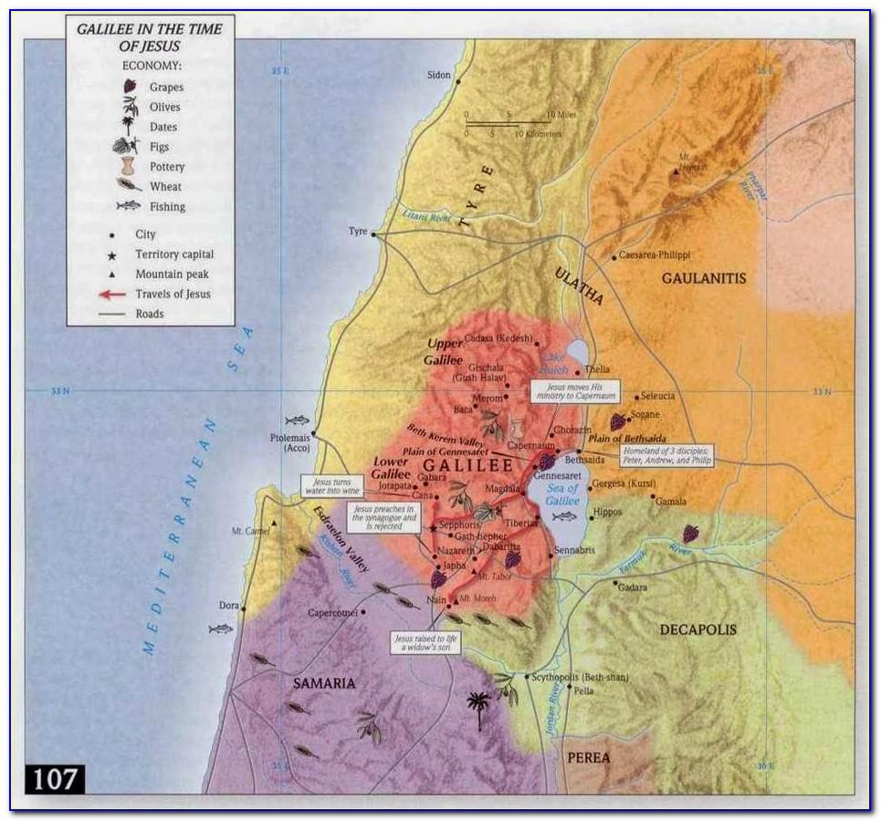 Classroom Bible Maps