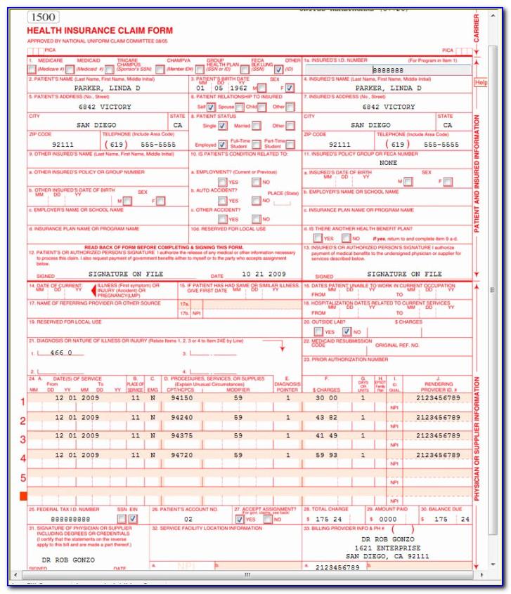 Cms 1500 Claim Form Free Download Inspirational Sample W2 Tax Form Form Resume Examples Wla0ebdgvk