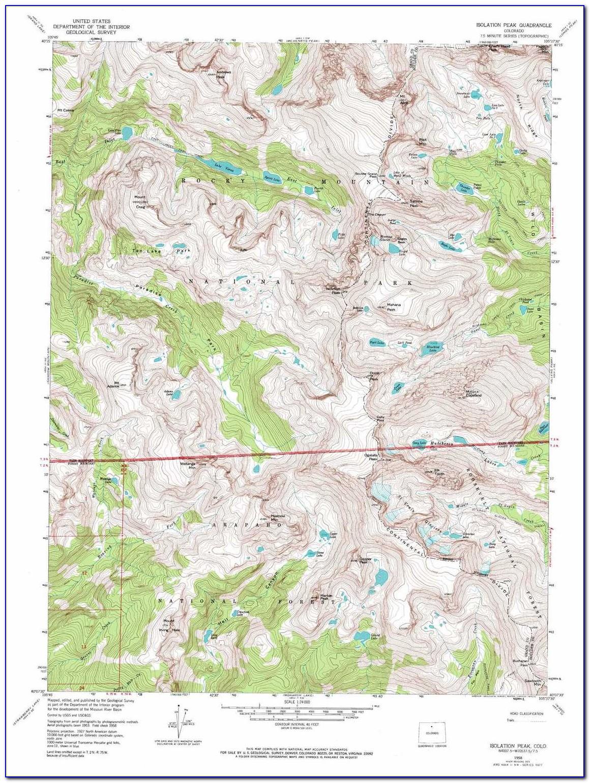 Colorado Topo Map Download