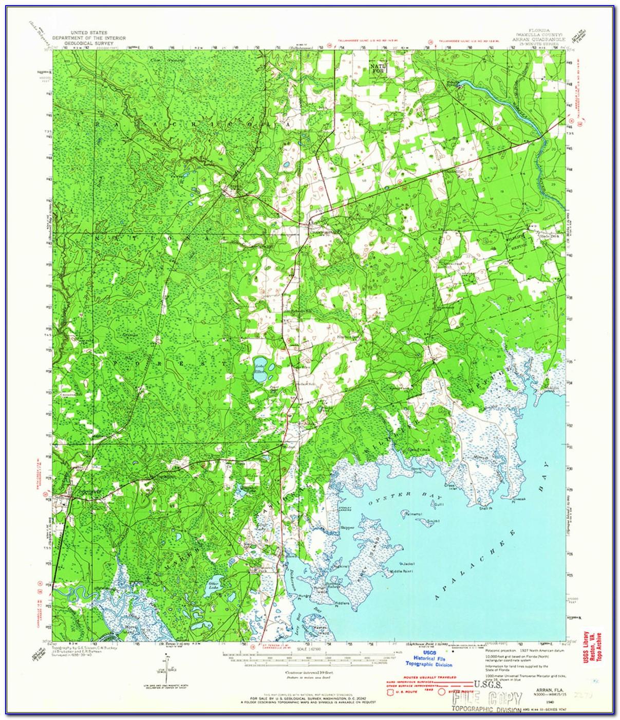 Colorado Topo Map Index