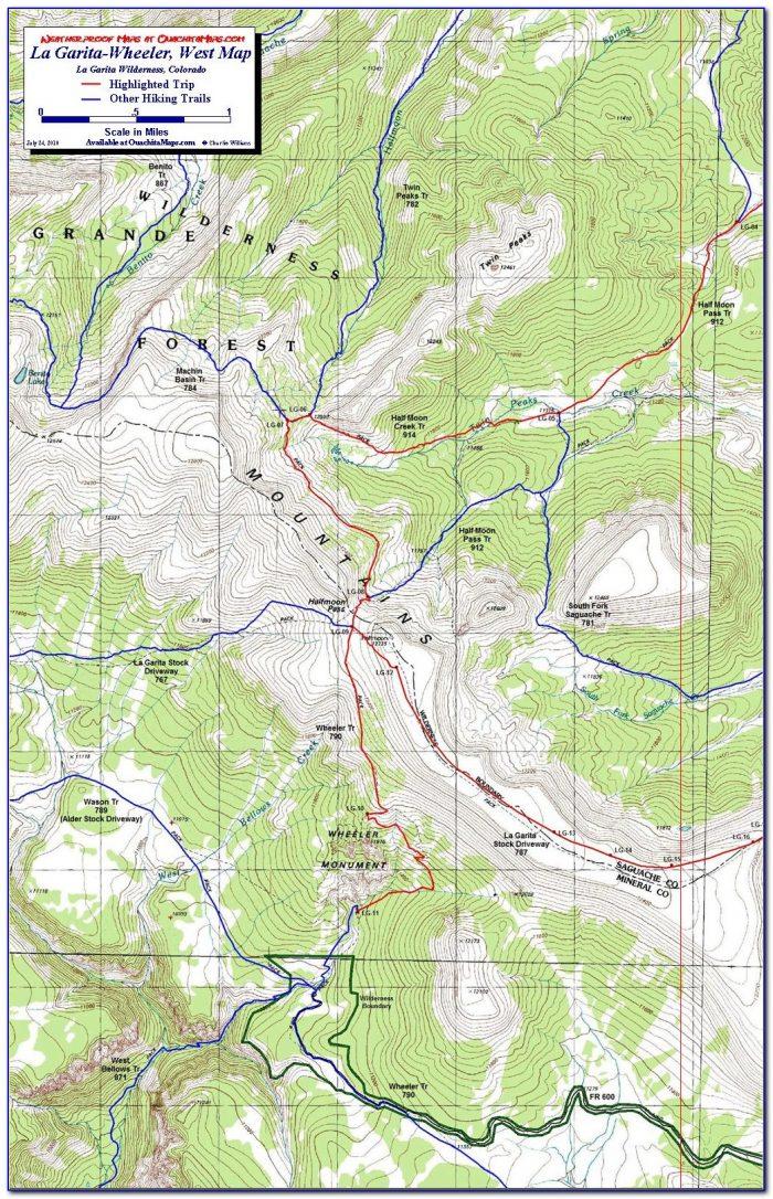Colorado Topo Maps For Hunting