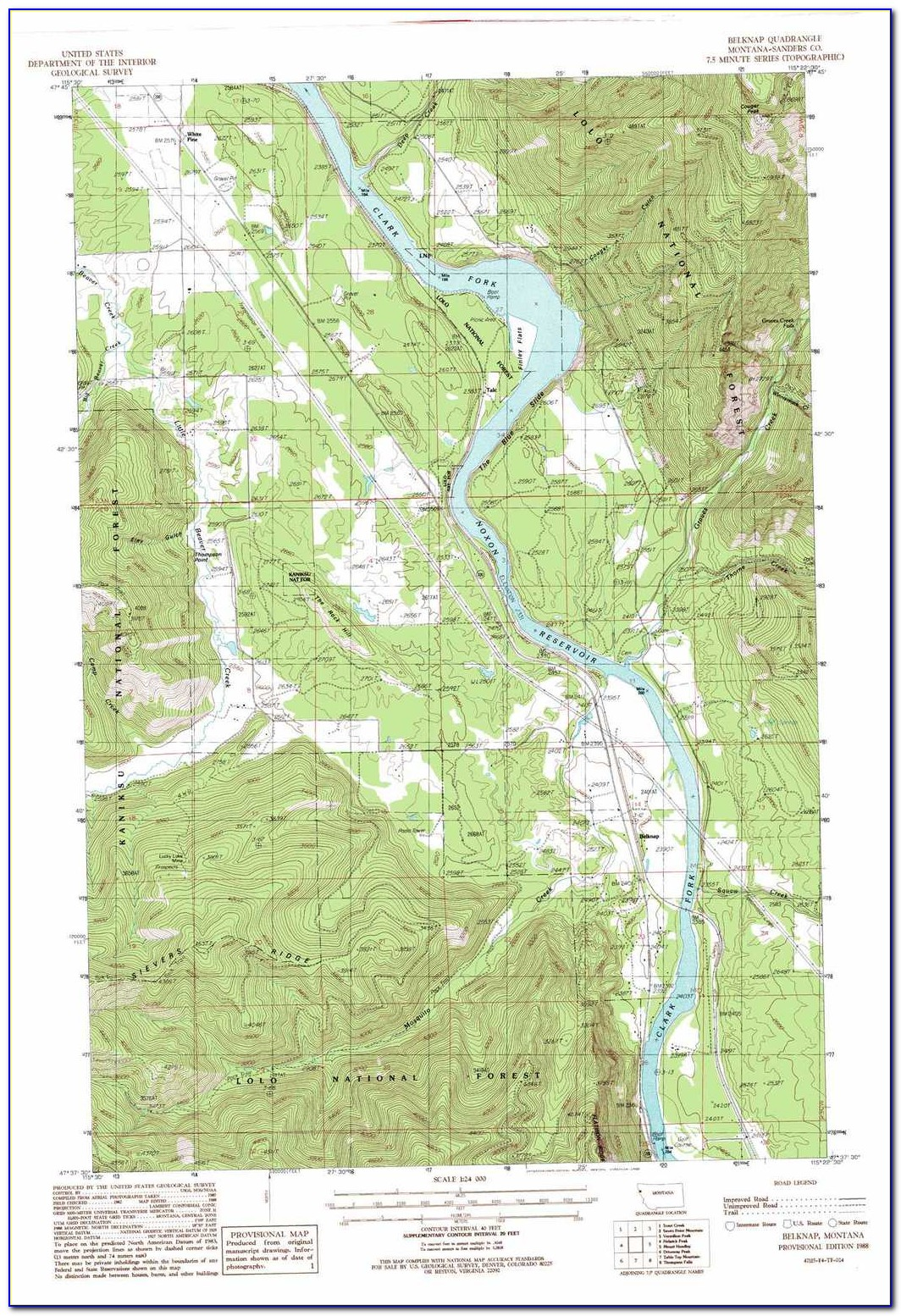 Colorado Topographic Map With Elevations