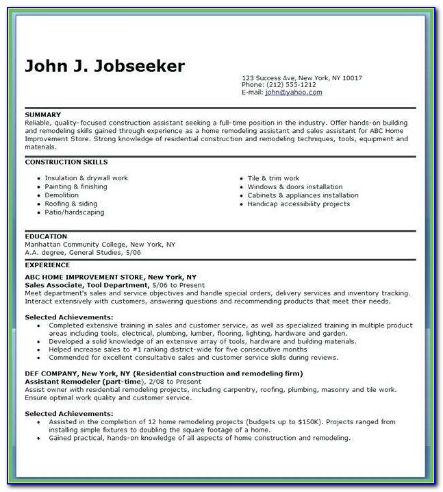 Best Of Carpenter Apprentice Resume Apprentice Electrician Resume Sample Pictures Ynd