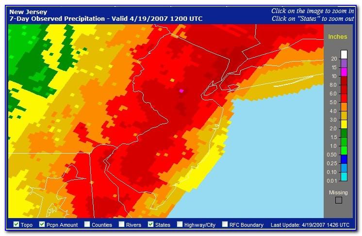 Cranford Nj Flood Map