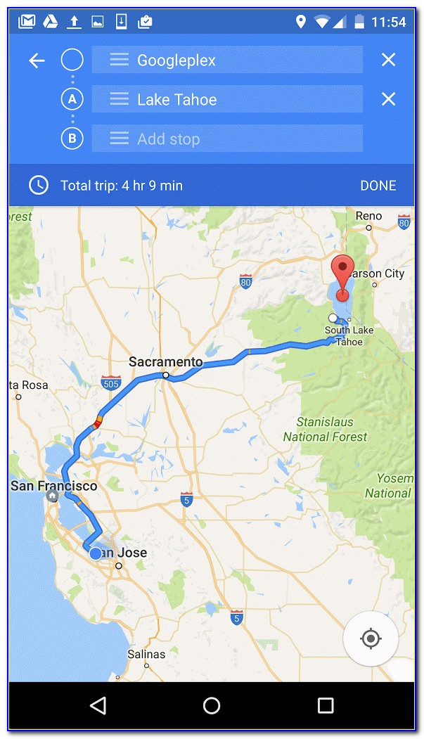 Create A Route With Multiple Stops Google Maps