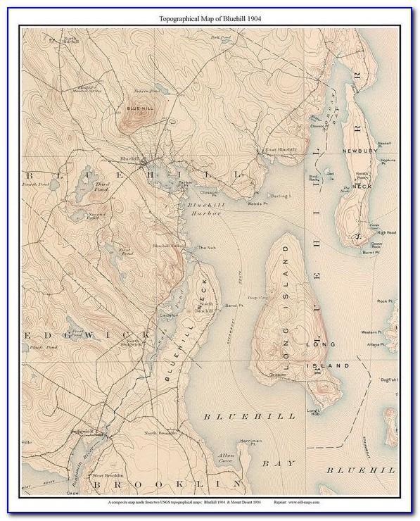 Custom Topo Hunting Maps