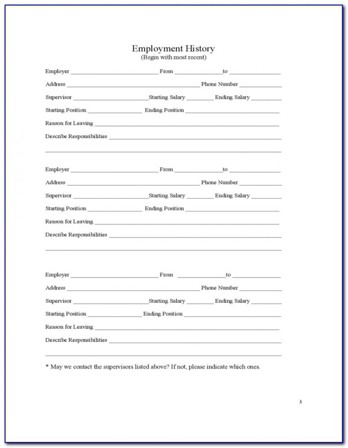 Cvs Job Application Form Pdf