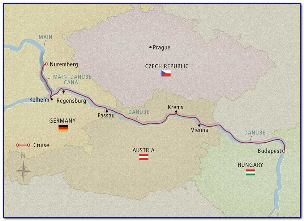 Danube River Cruise Map Viking