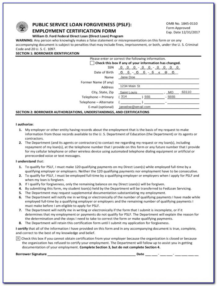 Debt Forgiveness Form 982