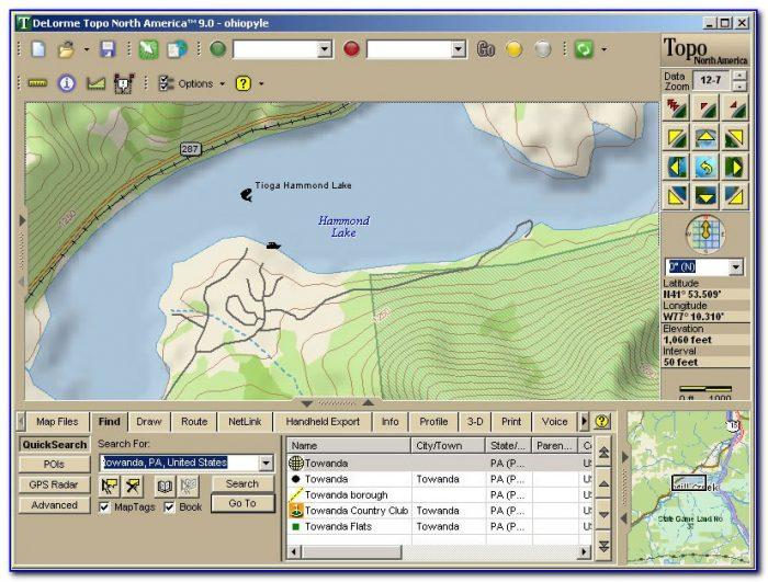 Delorme Explorer Topo Maps