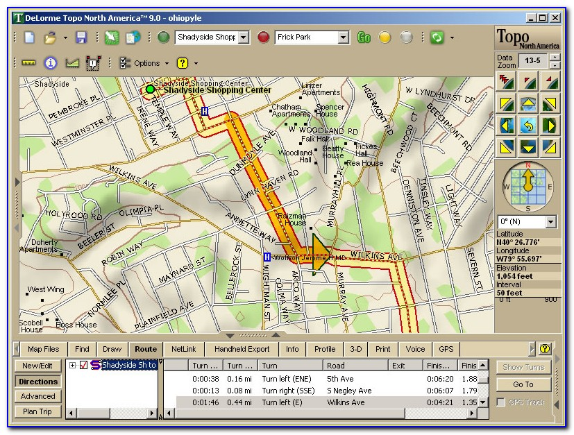 Delorme Maps Online