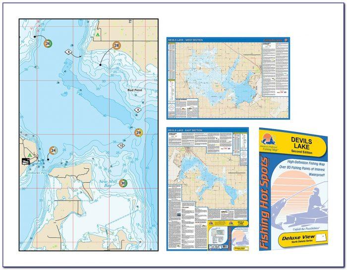 Devils Lake Nd Fishing Maps