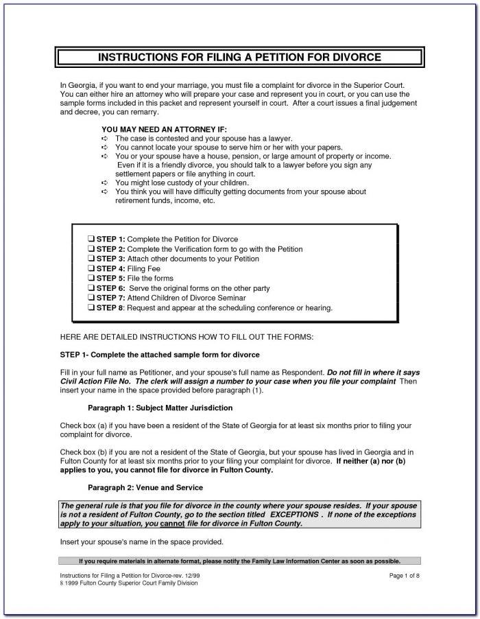 Nj Divorce Forms Pdf Lovely Divorce Form Florida 7 Papers Sc Attorney Letterheads Pantacake