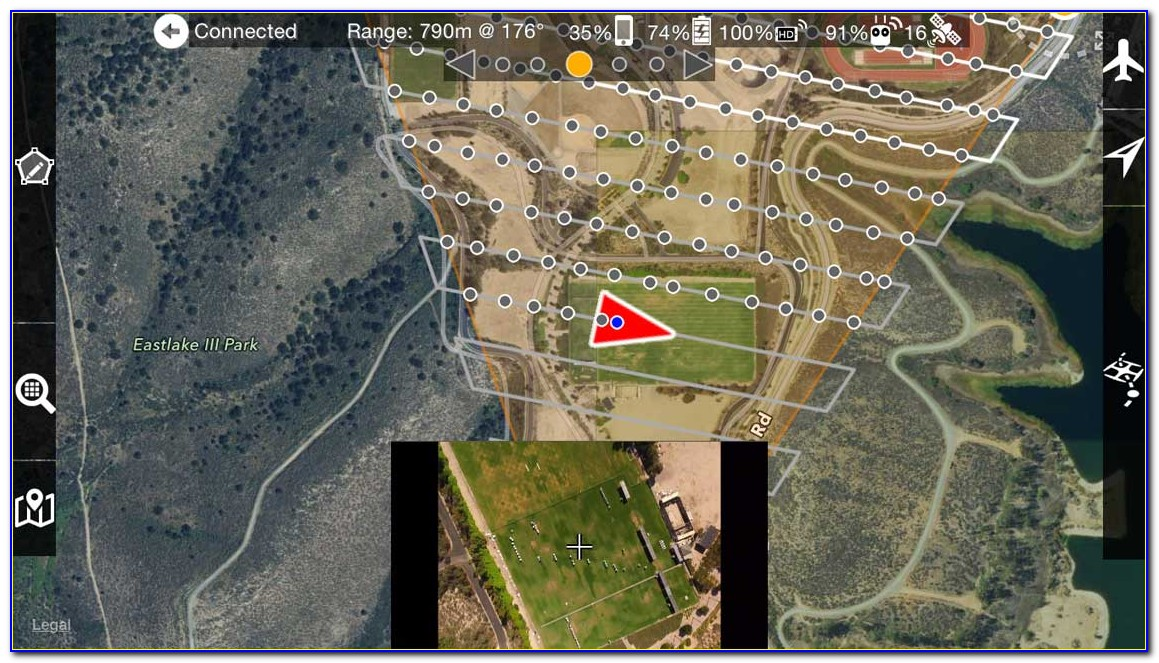 Drone Mapping App Android