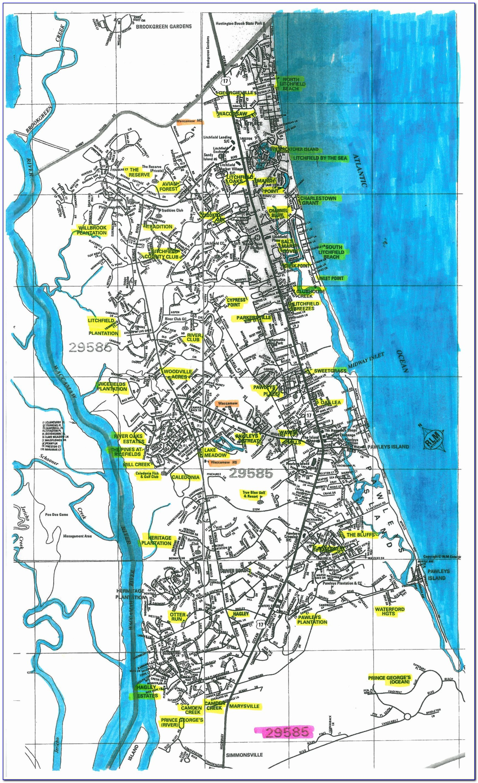 Elevation Map Pawleys Island Sc