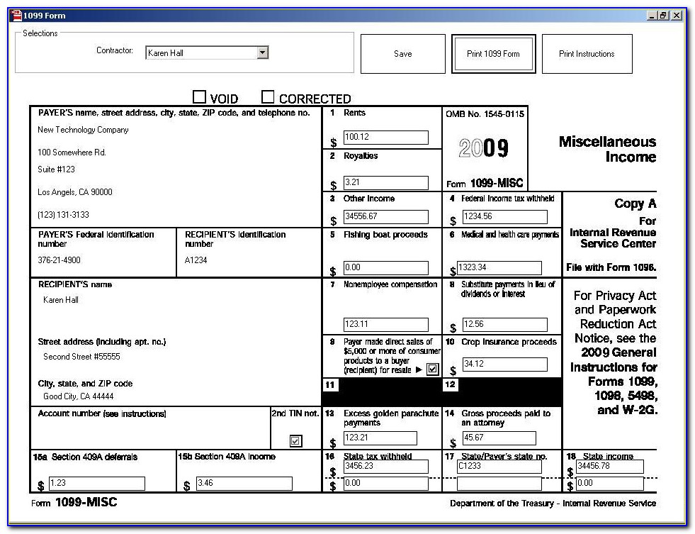 Filing 1099 Forms Online