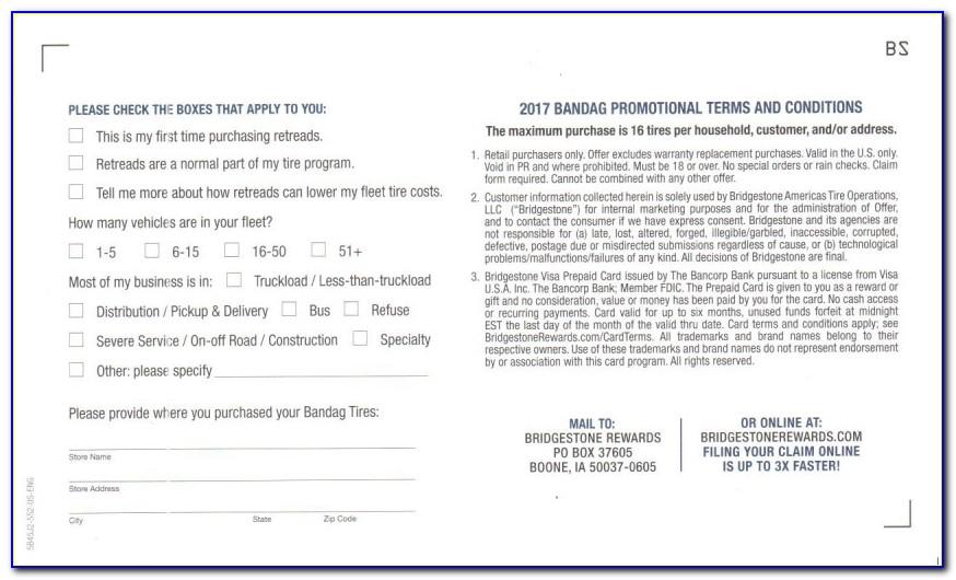 Firestone Fall Rebate Form 2017