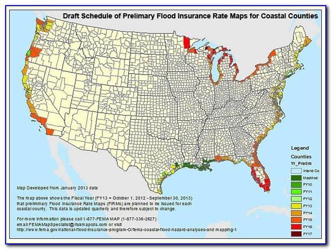 Flood Insurance Rate Maps North Carolina