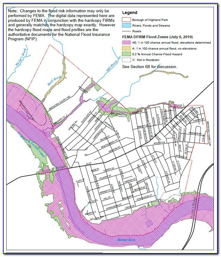 Flood Map Cranford Nj