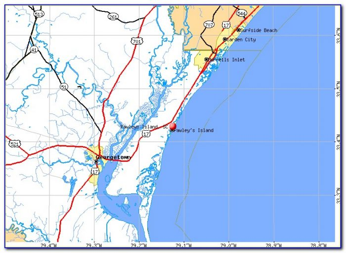 Flood Map Pawleys Island Sc