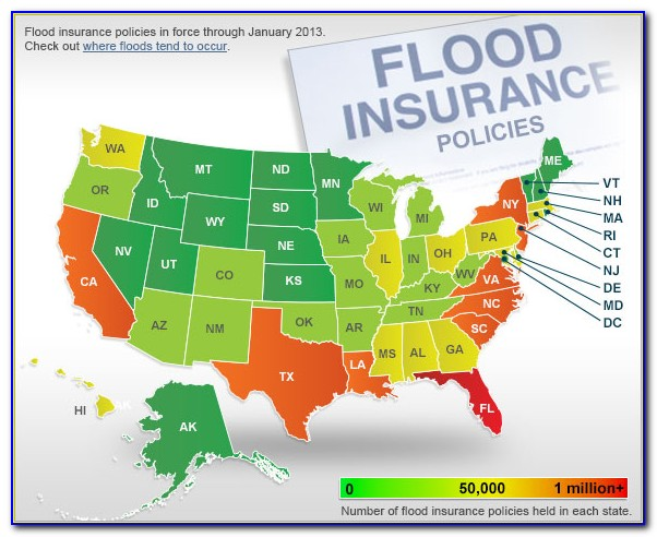 Flood Zone Insurance Rate Map