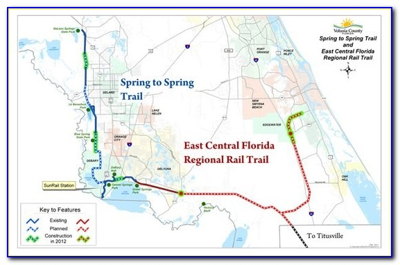 Florida Rails To Trails Map