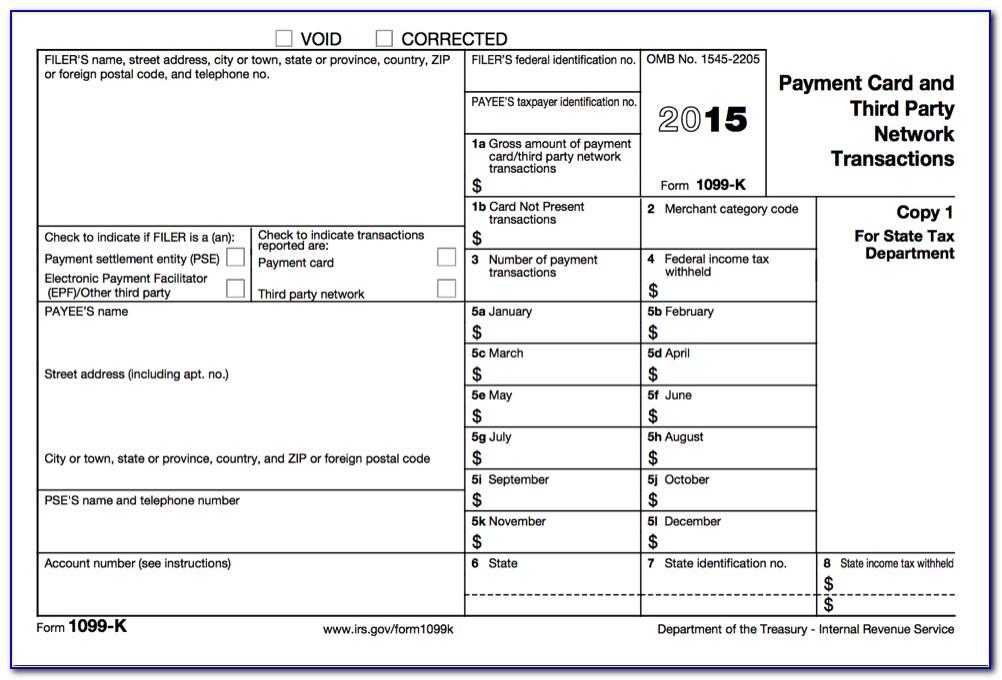 Form 1099 Filing Instructions