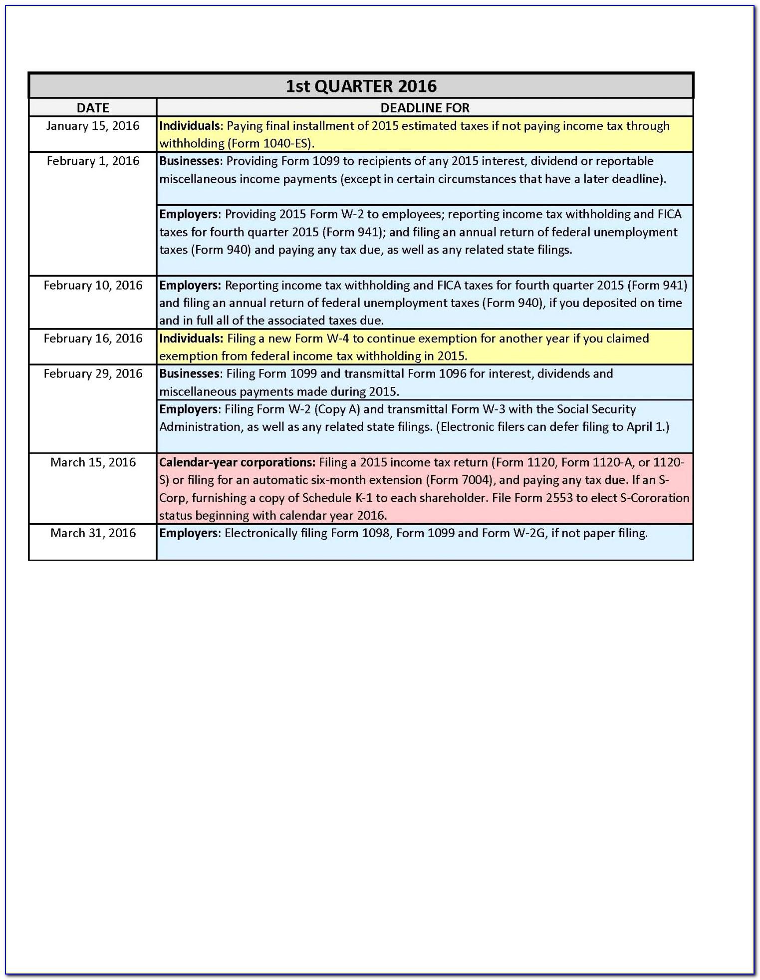 1099 Filing 2018 Deadline Lovely Tax Refund Worksheet 2014 Valid Irs Form 1040 2015 Portaldefe