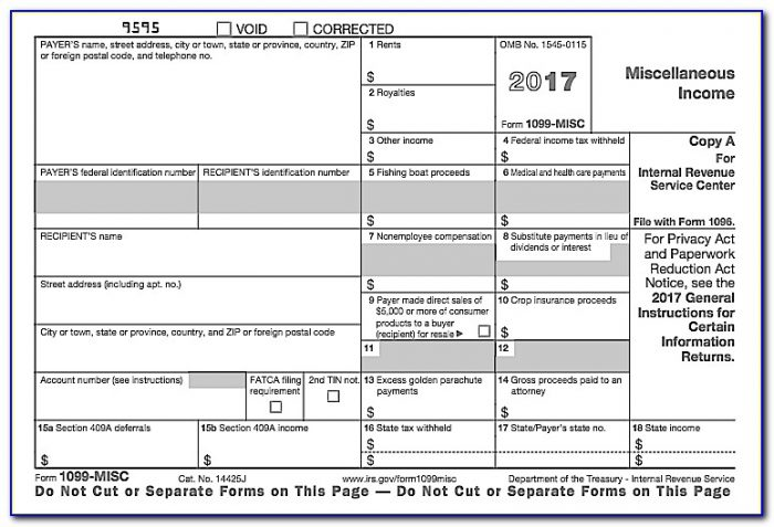 Form 1099 Misc Late Filing Penalty