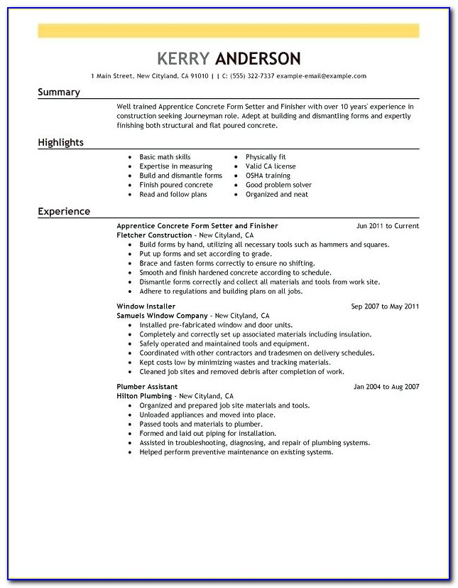 Form Carpenter Jobs In Houston