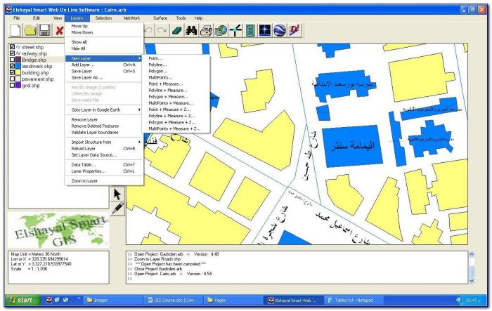 Fra Gis Mapping Application