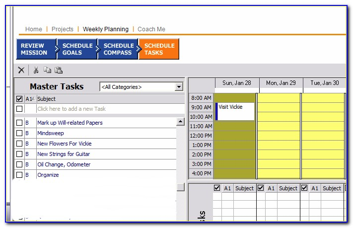 Franklin Covey Planner Forms