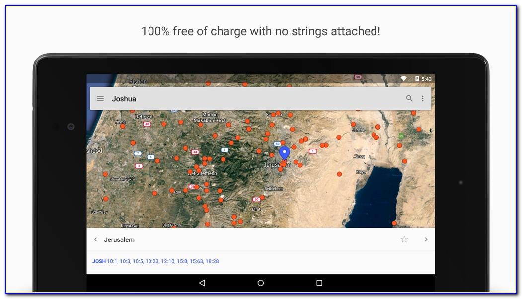 Free Bible Maps App