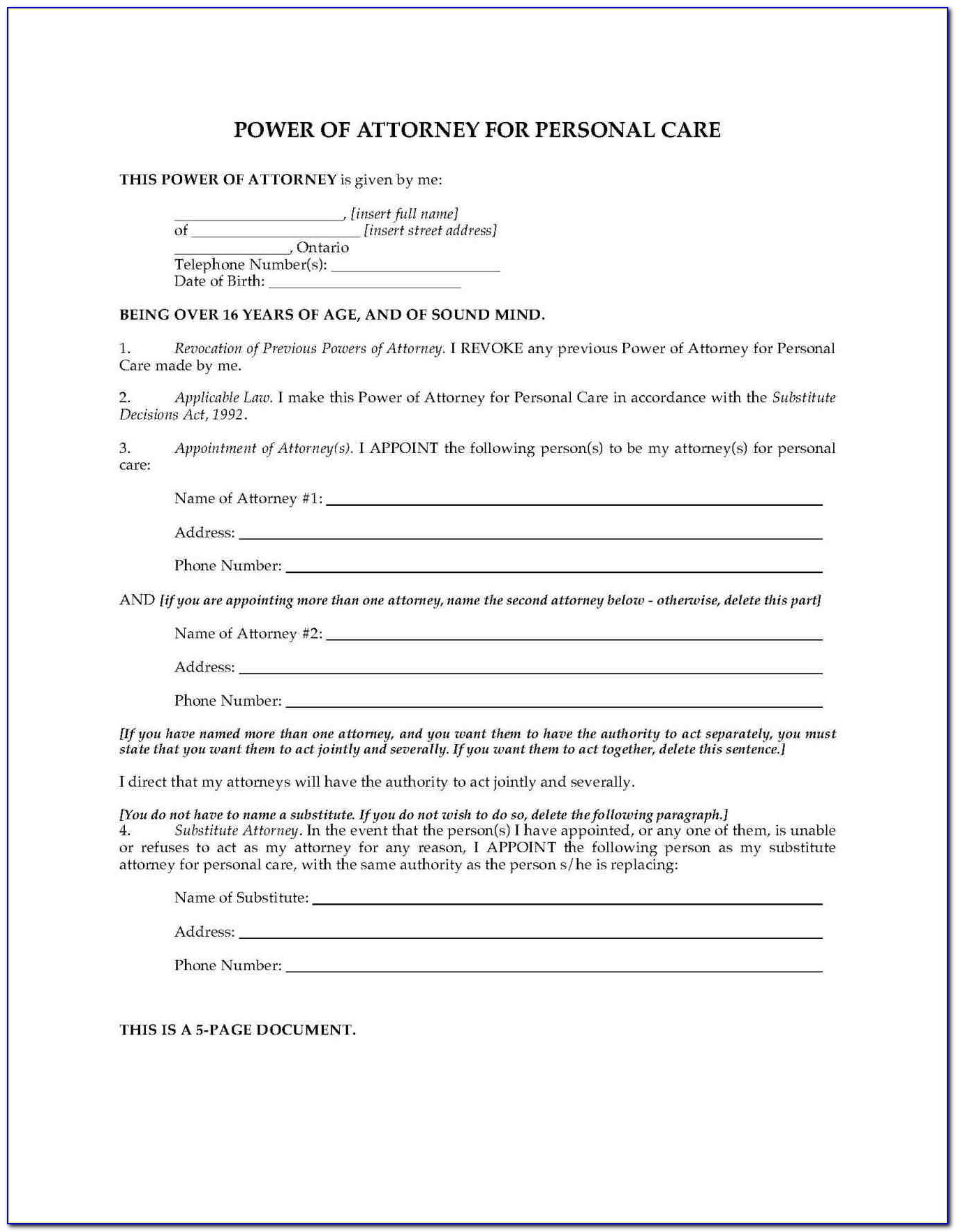 Free Codicil Form Illinois