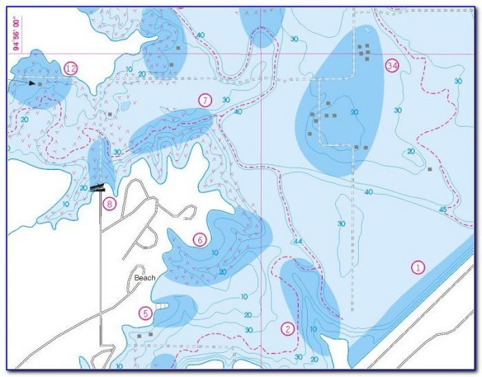Free Fishing Hotspot Maps