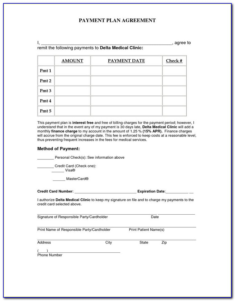 Free Installment Sale Agreement Form