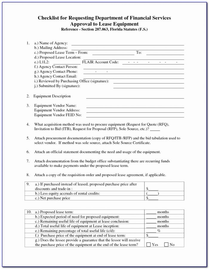 Free Landlord Tenant Lease Agreement Form