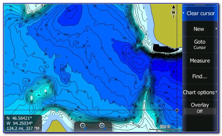Free Lowrance Lake Maps