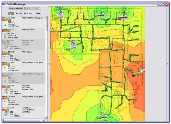 Free Wifi Mapping Tool