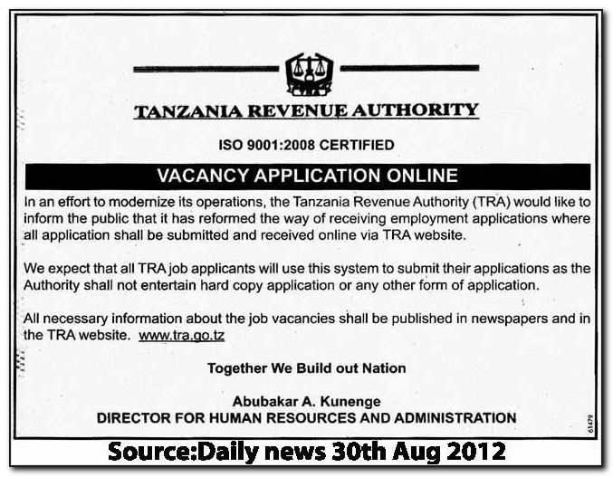 Full Time Job Applications Online