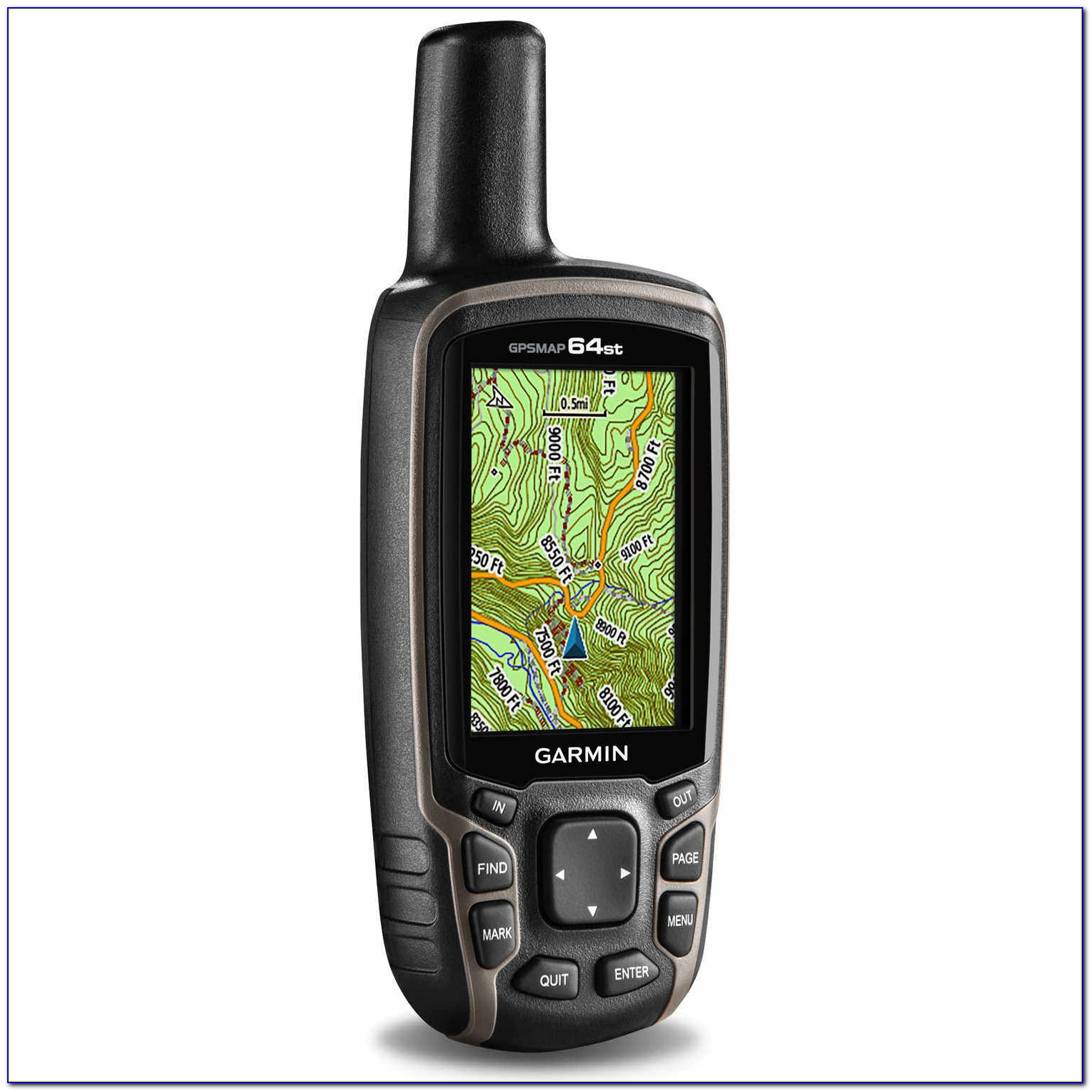 Garmin 64st Maps Do Not Have Routable Roads