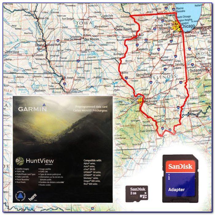 Garmin Alpha Huntview Maps