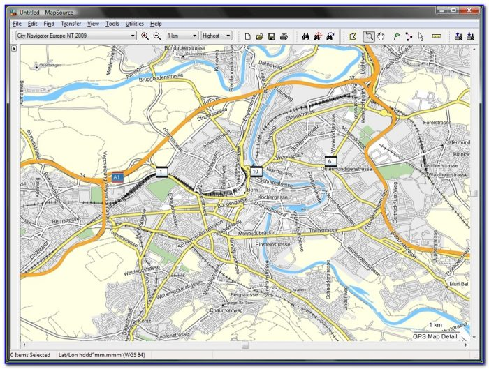 Garmin City Maps Free