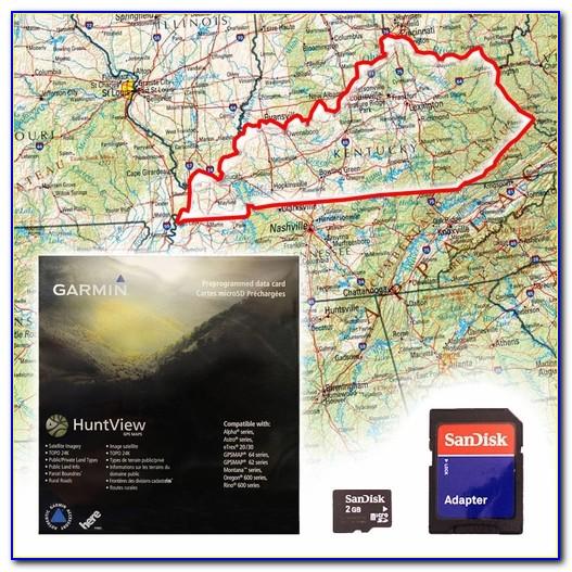 Garmin Huntview Maps Oregon
