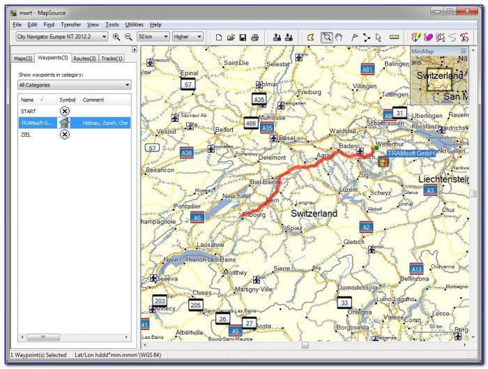 Garmin Mapping Software Free