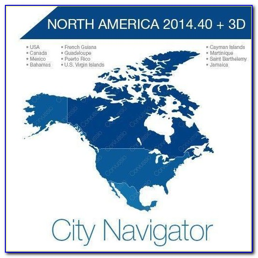 Garmin North America Maps Include Canada